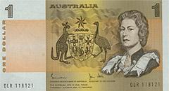 1 Paper Series Banknote Showing Her Majesty Queen Elizabeth Ii